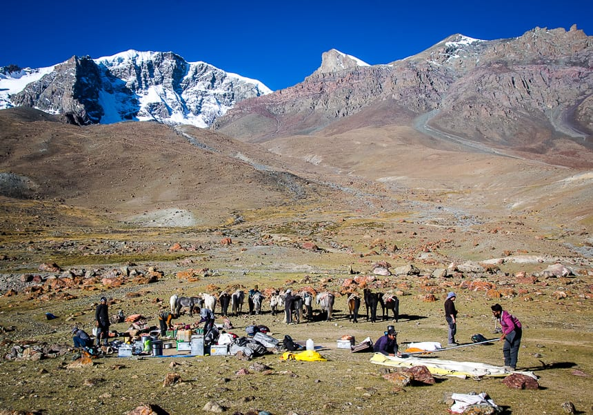 What a Day Looks Like on a Multi-Week Trekking Expedition