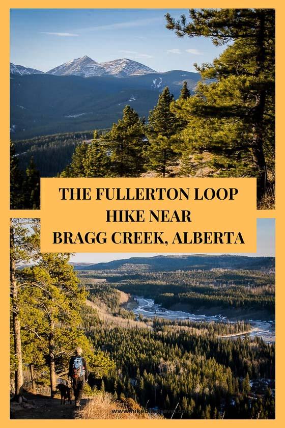 The year round Fullerton loop hike near Bragg Creek