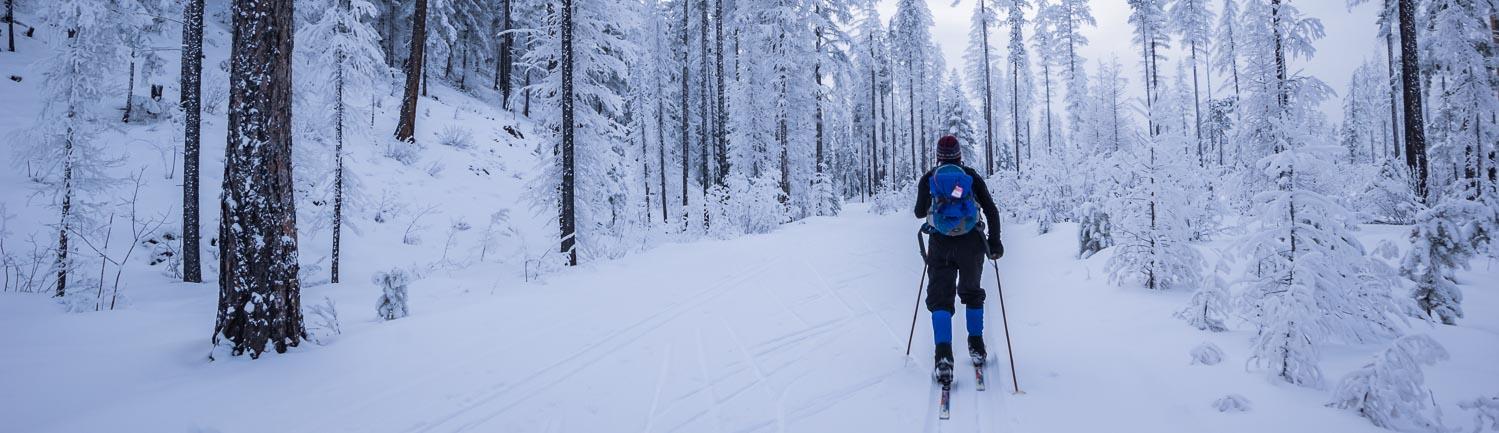 Cross-country skiing in Kimberley