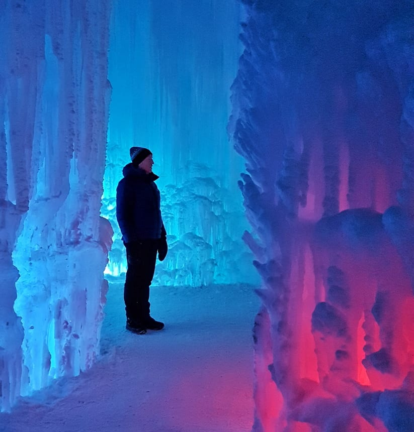 All ages can enjoy a visit to Edmonton's Ice Castle