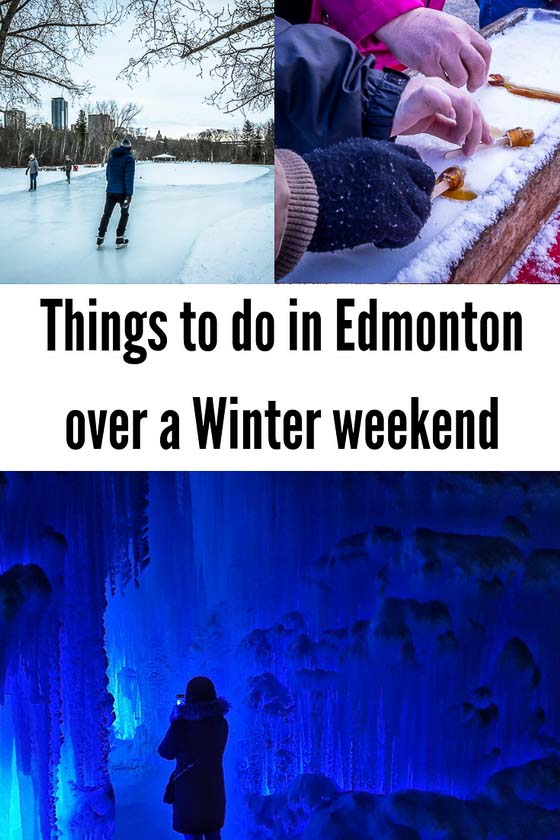 Things to do in Edmonton over a winter weekend