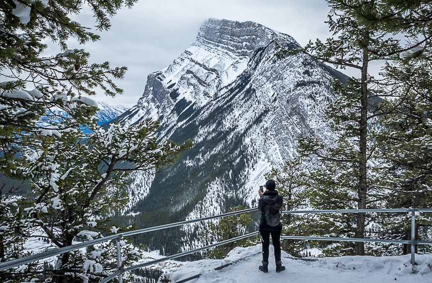 Awesome Views Of Mt Rundle