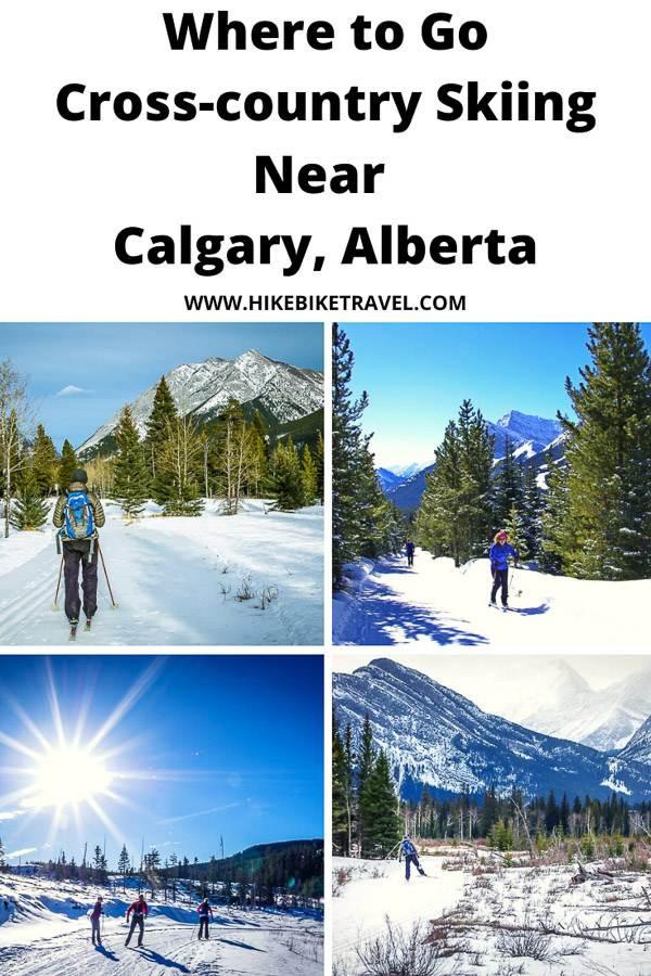 Where to go cross-country skiing near Calgary, Alberta