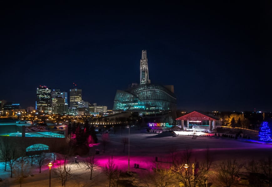 A Winter Visit to the Forks - Winnipeg's Historic Gathering Place