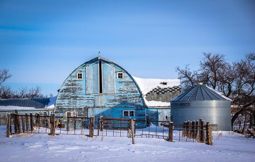 Or do you prefer blue barns?
