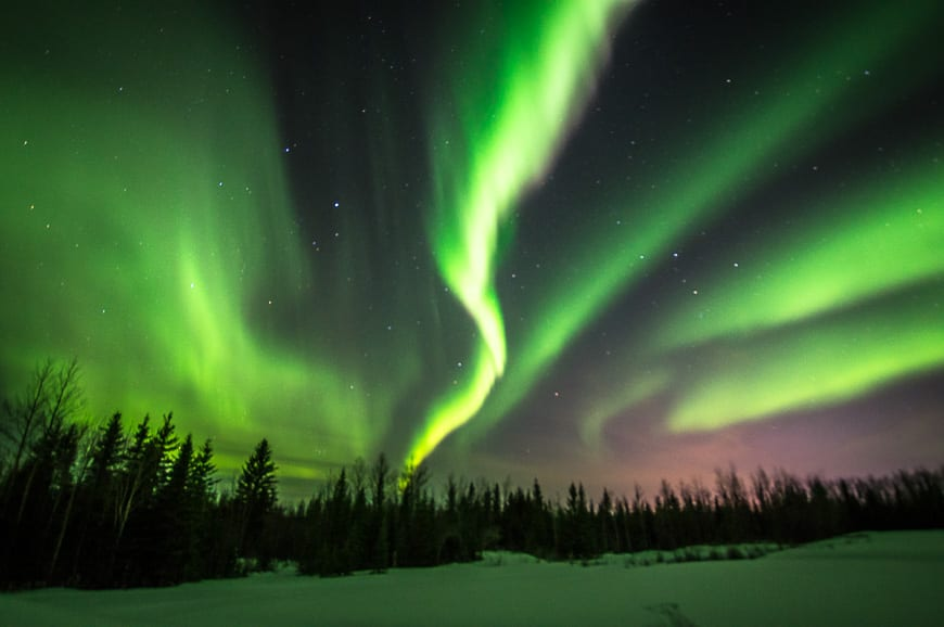 We had a stunning Northern Lights display over Fort McMurray for three hours