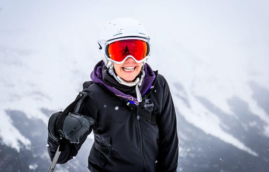 Wonderful optics with Oakley ski goggles