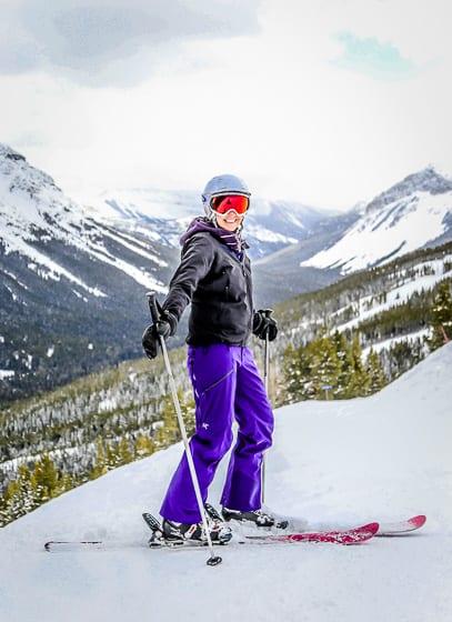 Spring Skiing in Alberta