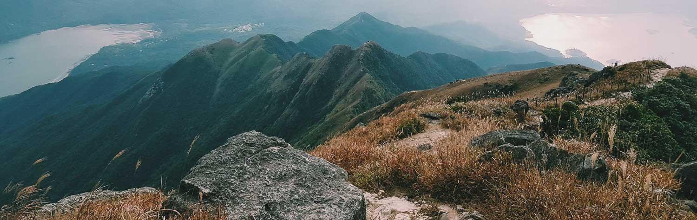 Lantau Peak in Hong Kong