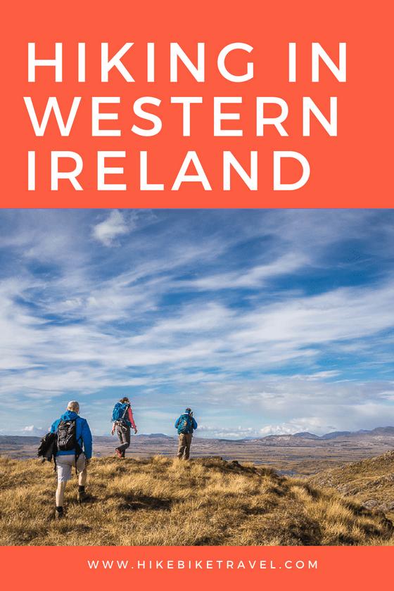 Hiking in western Ireland