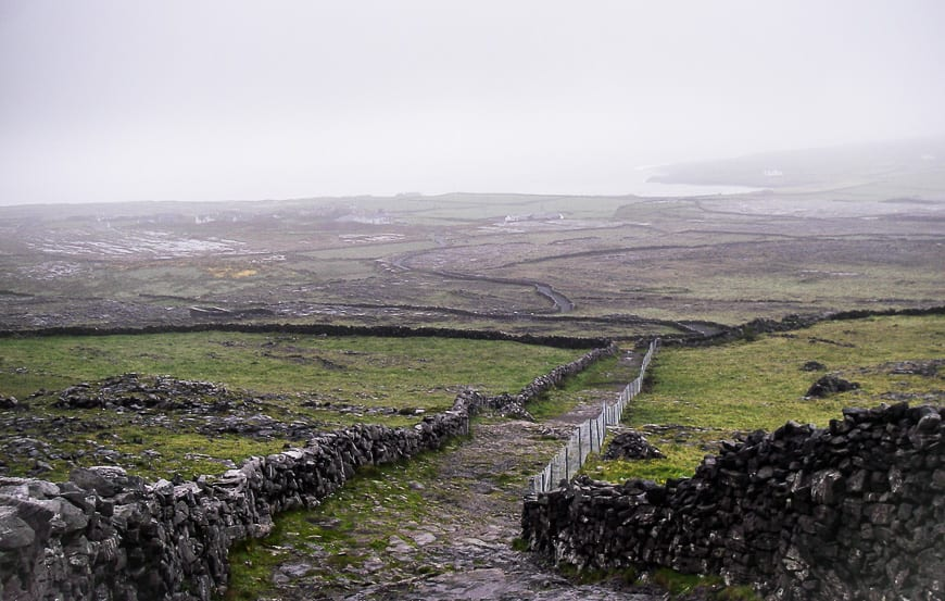 It's Ireland so go expecting rain and if you get sun it's a bonus