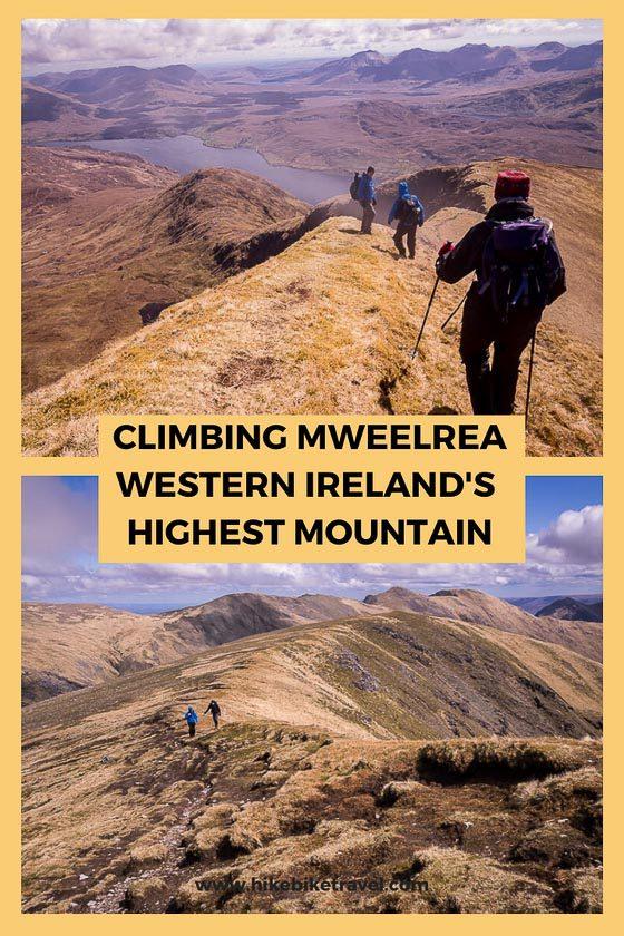 Climbing Mweelrea - western Ireland's highest mountain