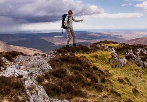 Hiking the 12 Bens in Ireland
