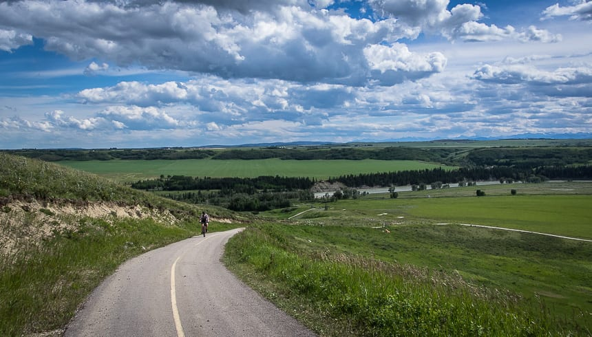 Biking The Glenbow Ranch Trails
