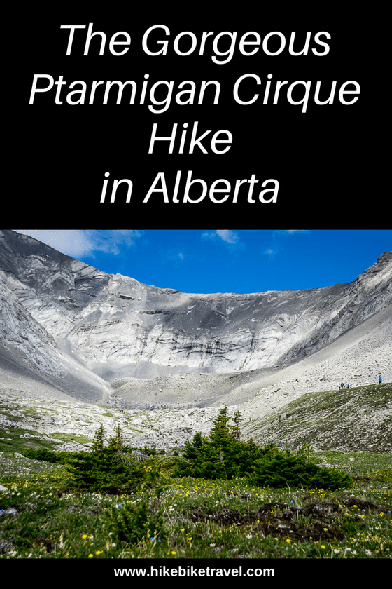 The Ptarmigan Cirque Hike in Kananaskis Country