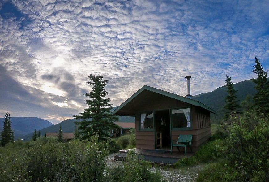 My cabin at Camp Denali