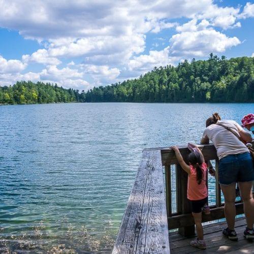 Pink Lake in Gatineau Park has a Secret