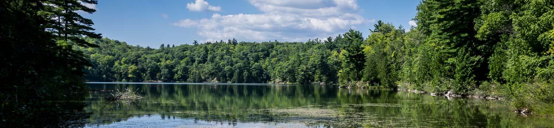 Pink Lake in the Gatineau
