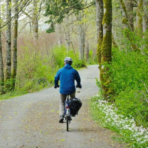 Biking the Galloping Goose Trail