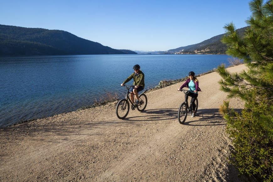Biking the Okanagan Rail Trail