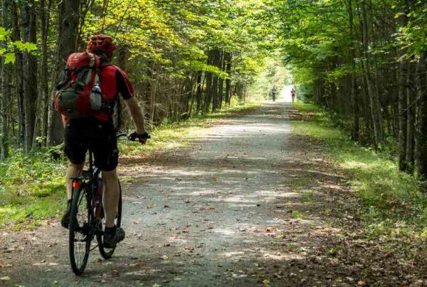 Cycling the Petit Train du Nord