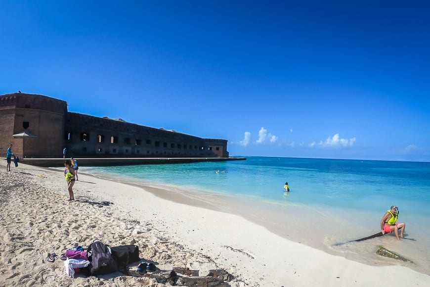 A Day Trip to Dry Tortugas National Park