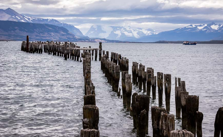It's worth a walk along the waterfront in Puerto Natales