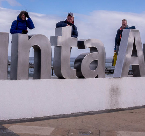 Punta Arenas sign in Chile