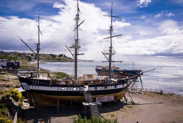 Replica of Darwin's HMS Beagle
