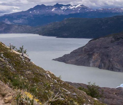 Torres del Paine trek by the Grey Glacier