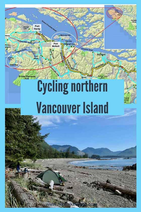 Biking North Vancouver Island