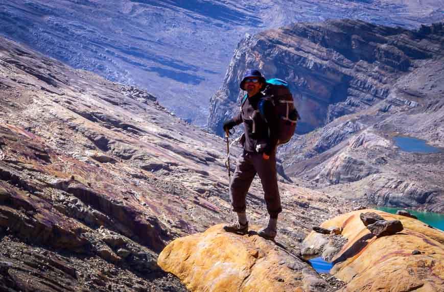 Rodrigo - our guide at the mountain pass
