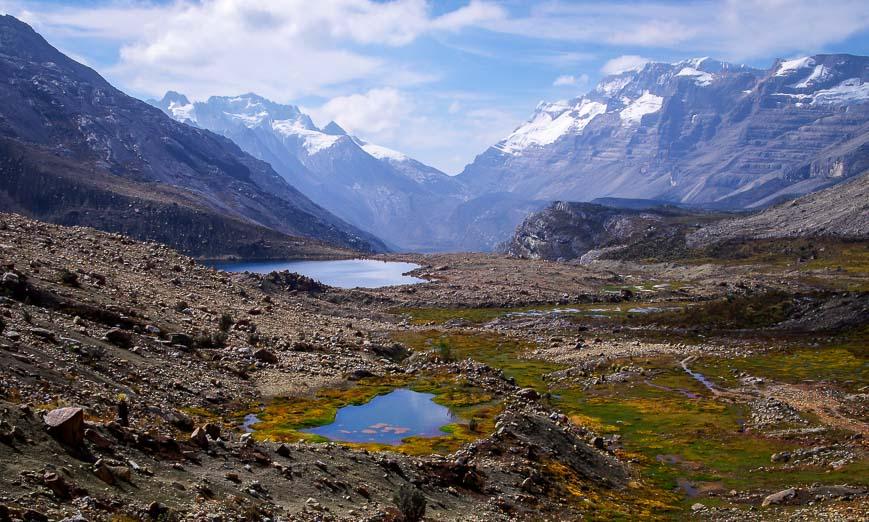 Sierra Nevada del Cocuy mountain views