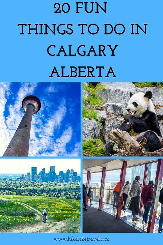 20 fun things to do in Calgary, Alberta