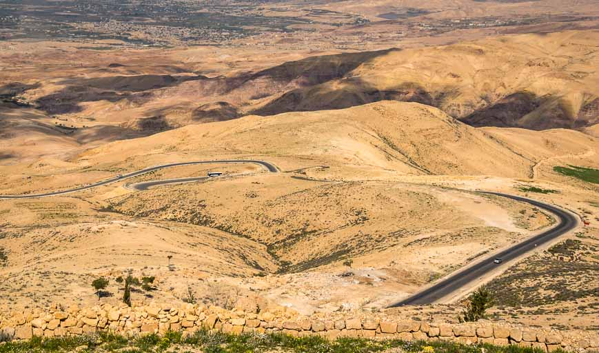 The road from Mt Nebo you see in the photo is the one we get to ride