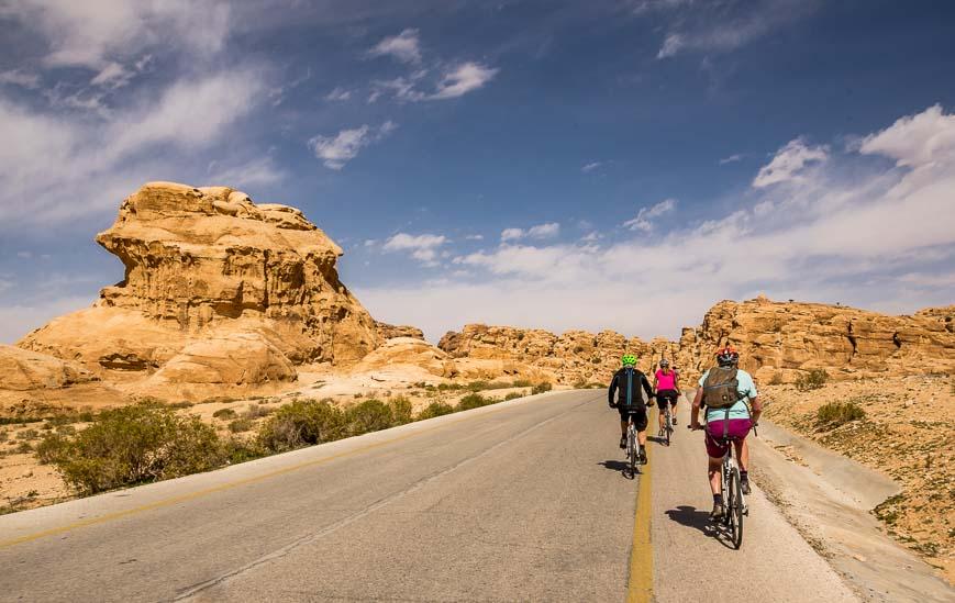 Superb landscape for a bike ride