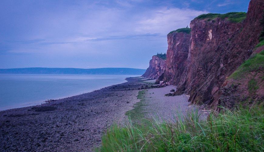 Cape d'Or Lighthouse area