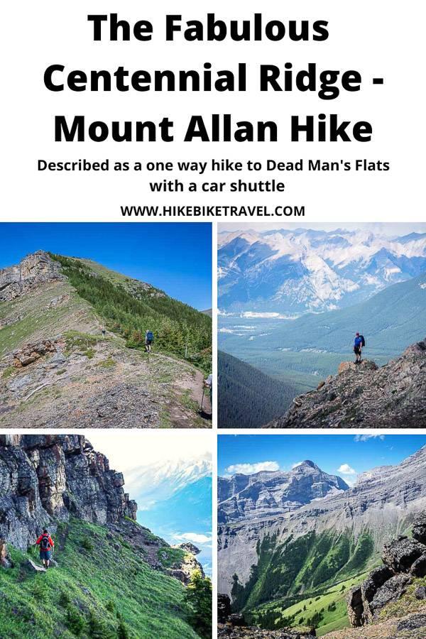The fabulous Centennial Ridge - Mount Allan hike in Kananaskis Country, Alberta