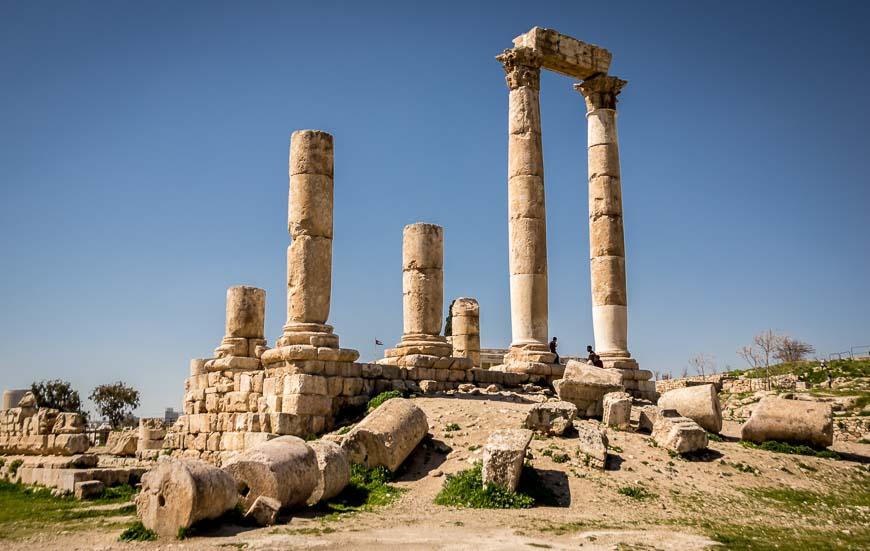 Citadel in Amman Jordan