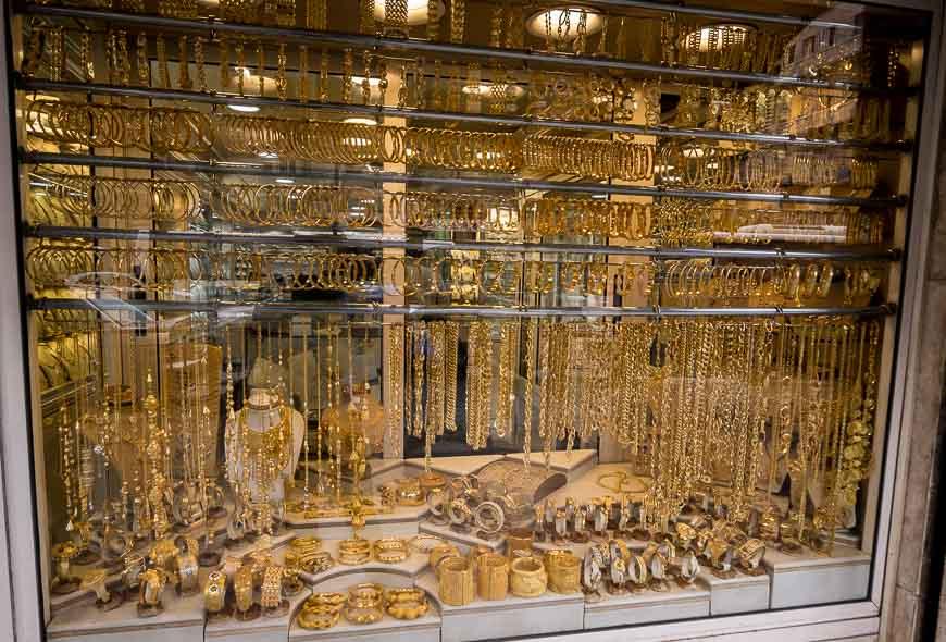 Gold market in Amman