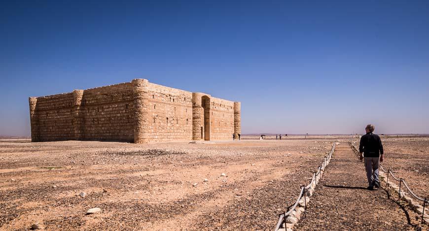 Qasr Kharana - a desert castle 60 km east of Amman