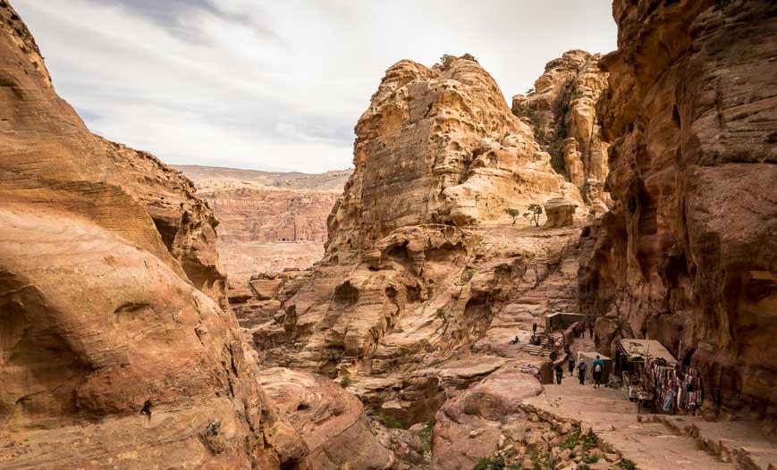 The Hike To The Petra Monastery