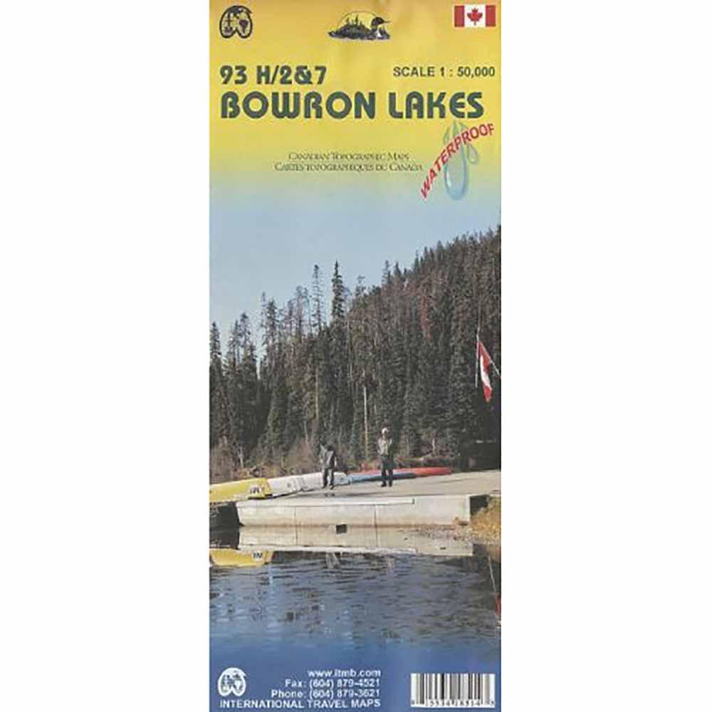 Bowron Lakes Map