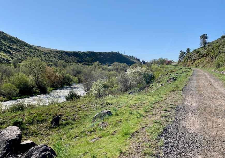 Hiking & biking trails in Klamath Falls
