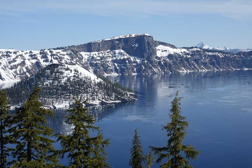 Crater Lake In Its Namesake Park