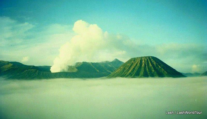 A Solo Ascent Of Mount Semeru In Indonesia