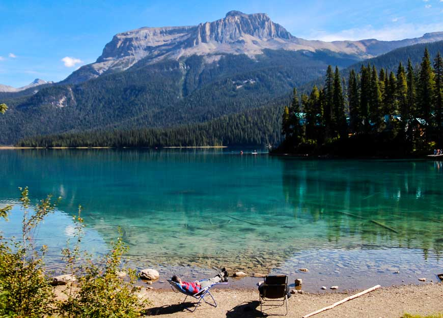 Emerald Lake In Summer