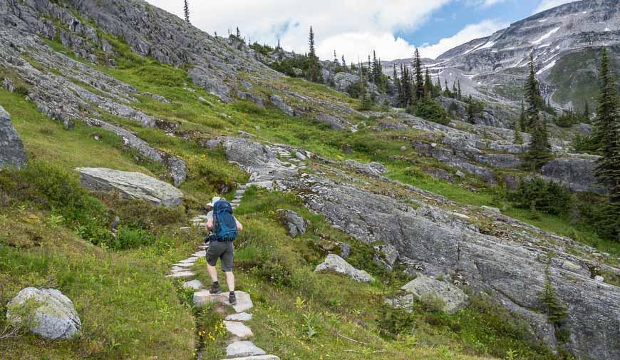 Into the high alpine