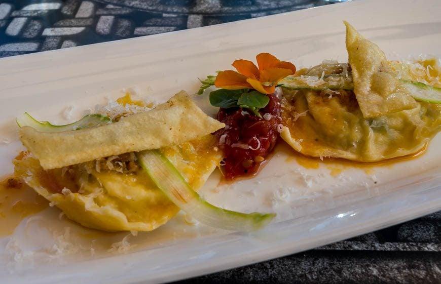 Asparagus & Ricotta Ravioli