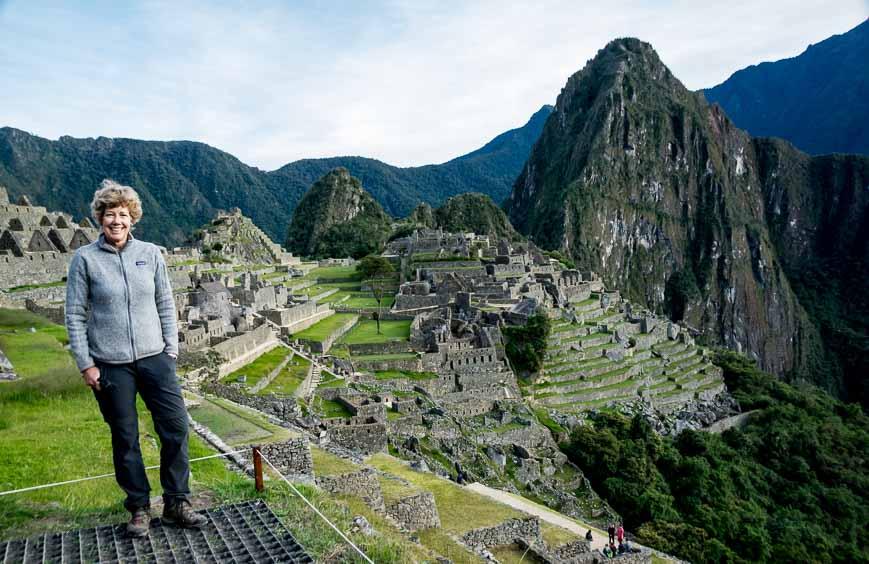 The backdrop at Machu Picchu everyone wants